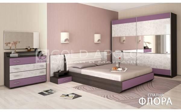 Спален комплект Флорал