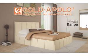 Тапицирано легло Капри - крем