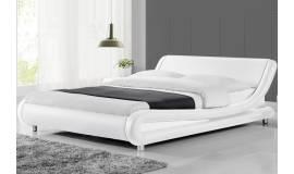 Тапицирана кожена спалня Saragossa